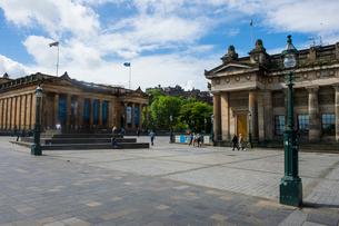 Scottish National Gallery and Academy, Edinburgh, Scotland, United Kingdom, Europeの写真素材 [FYI03783915]