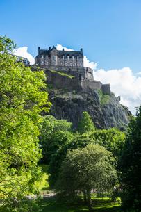 Edinburgh Castle, UNESCO World Heritage Site, Edinburgh, Scotland, United Kingdom, Europeの写真素材 [FYI03783919]