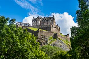 Edinburgh Castle, UNESCO World Heritage Site, Edinburgh, Scotland, United Kingdom, Europeの写真素材 [FYI03783925]