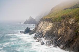 Slea Head, Dingle Peninsula, County Kerry, Munster region, Republic of Ireland, Europeの写真素材 [FYI03783944]