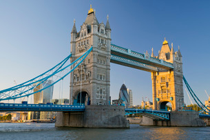 Tower Bridge, London, England, United Kingdom, Europeの写真素材 [FYI03784596]
