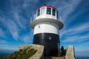 Cape Point lighthouse, Cape of Good Hope, South Africa, Africaの写真素材 [FYI03784968]