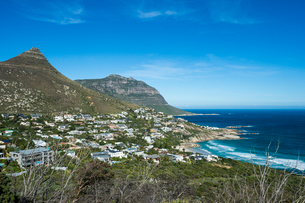 View over Llandudno, Cape of Good Hope, South Africa, Africaの写真素材 [FYI03784972]