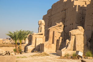 Karnak Temple, UNESCO World Heritage Site, near Luxor, Egypt, North Africa, Africaの写真素材 [FYI03785134]