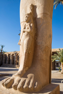Karnak Temple, UNESCO World Heritage Site, near Luxor, Egypt, North Africa, Africaの写真素材 [FYI03785153]