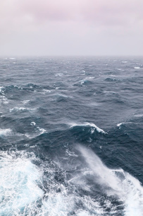 Storm in the Gulf of Alaska, United States of America, North Americaの写真素材 [FYI03785352]