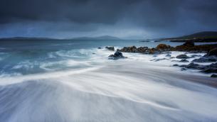 Bagh Steinigidh, Isle of Harris, Outer Hebrides, Scotland, United Kingdom, Europeの写真素材 [FYI03785482]