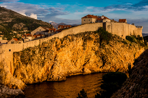 Views of Lokrum Island National Park, Croatia, Europeの写真素材 [FYI03785552]