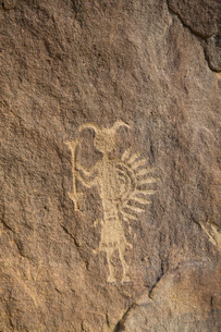 Petroglyphs, up to 1500 years old, Crow Canyon, New Mexico, United States of America, North Americaの写真素材 [FYI03786020]
