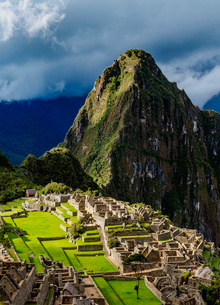 Machu Picchu Ruins, UNESCO World Heritage Site, Cusco Region, Peru, South Americaの写真素材 [FYI03786625]