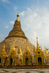 Shwedagon Pagoda, Yangon (Rangoon), Mynamar (Burma), Asiaの写真素材 [FYI03786855]