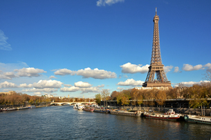 Eiffel Tower, Paris, France, Europeの写真素材 [FYI03787212]