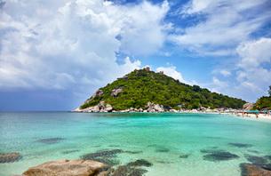 Koh Nang Yuan island, Thailand, Southeast Asia, Asiaの写真素材 [FYI03787735]