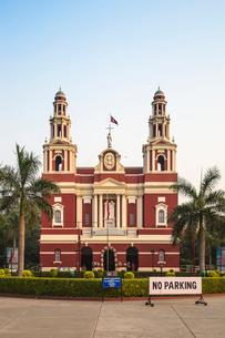 Sacred Heart Cathedral, New Delhi, Delhi, India, Asiaの写真素材 [FYI03787802]