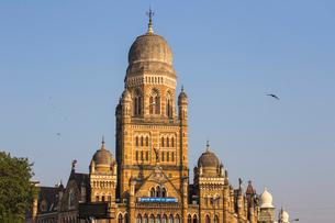 Brihan Mumbai Mahanagarpalika, Govenment offices, Mumbai, Maharashtra, India, Asiaの写真素材 [FYI03787911]