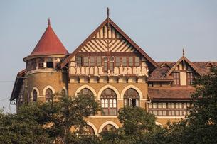 Royal Bombay Yacht Club, Colaba, Mumbai, Maharashtra, India, Asiaの写真素材 [FYI03787967]