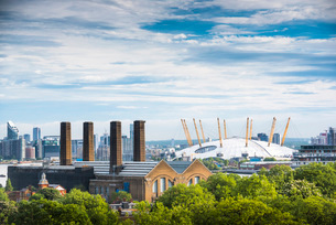 The O2 Arena, Greenwich, London, England, United Kingdom, Europeの写真素材 [FYI03787988]