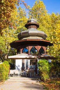 Music pavilion, Sarajevo, Bosnia and Herzegovina, Europeの写真素材 [FYI03788131]