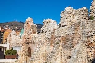 Taslihan, an ancient caravanserai, Bascarsija (The Old Quarter), Sarajevo, Bosnia and Herzegovina, Eの写真素材 [FYI03788136]
