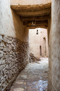 The old ghost town of Al Ula, Saudi Arabia, Middle Eastの写真素材 [FYI03788410]