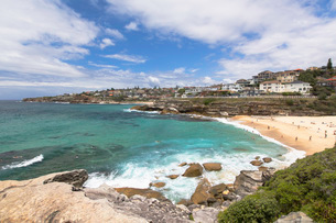 Tamarama Beach, Sydney, New South Wales, Australia, Pacificの写真素材 [FYI03788741]