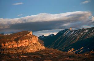 Mountain landscape, Spanish Pyrenees, Spain, Europeの写真素材 [FYI03789042]