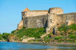 Bilhorod-Dnistrovskyi fortress formerly known as Akkerman on the Black Sea coast, Ukraine, Europeの写真素材 [FYI03789724]