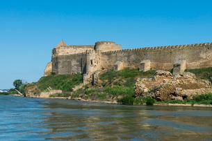 Bilhorod-Dnistrovskyi fortress formerly known as Akkerman on the Black Sea coast, Ukraine, Europeの写真素材 [FYI03789726]