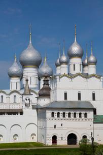 Resurrection of Christ Gate Church, Kremlin, Rostov Veliky, Golden Ring, Yaroslavl Oblast, Russia, Eの写真素材 [FYI03789849]