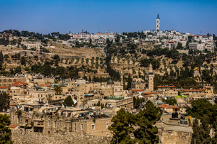 Scenic in Jerusalem, Israel, Middle Eastの写真素材 [FYI03790351]