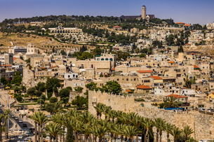 Scenic in Jerusalem, Israel, Middle Eastの写真素材 [FYI03790353]