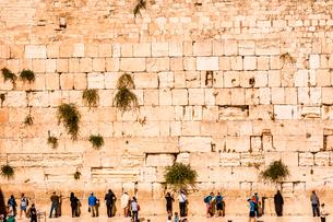 Western Wall, Jerusalem, Israel, Middle Eastの写真素材 [FYI03790359]