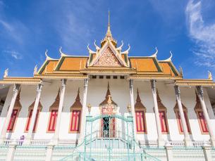 Silver Pagoda, Royal Palace, Phnom Penh, Cambodia, Indochina, Southeast Asia, Asiaの写真素材 [FYI03790631]