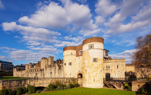 Tower of London, UNESCO World Heritage Site, London, England, United Kingdom, Europeの写真素材 [FYI03790703]
