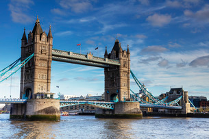 Tower Bridge, London, England, United Kingdom, Europeの写真素材 [FYI03790705]