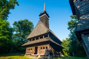 Church of St. Nicholas, UNESCO World Heritage Site, Sokyrnytsya, Western Ukraine, Europeの写真素材 [FYI03790754]