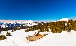 Avoriaz, Morzine, French Alps, France, Europeの写真素材 [FYI03790943]