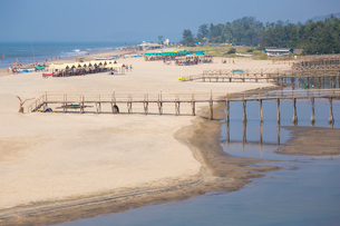 Mandem beach, Goa, India, Asiaの写真素材 [FYI03791196]