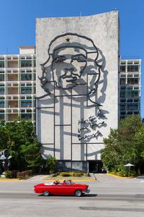 Square of the Revolution, Havana, Cuba, West Indies, Caribbean, Central Americaの写真素材 [FYI03791455]