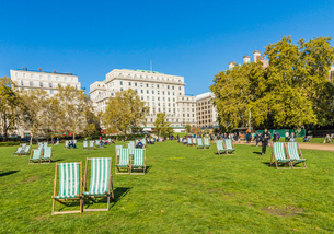 Green Park, London, England, United Kingdom, Europeの写真素材 [FYI03792232]