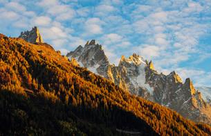 Aiguille de Chamonix, Chamonix, Haute Savoie, French Alps, France, Europeの写真素材 [FYI03792307]