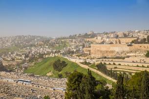 Mount of Olives, Jerusalem, Israel, Middle Eastの写真素材 [FYI03792333]