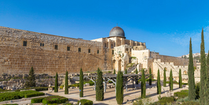 Jerusalem Archaeological Park and Davidson Center, Jerusalem, Israel, Middle Eastの写真素材 [FYI03792337]