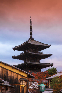 Yasaka Pagoda, Gion, Kyoto, Japan, Asiaの写真素材 [FYI03792524]