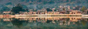 Pindaya, Shan State, Myanmar (Burma), Asiaの写真素材 [FYI03792939]