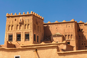 Kasbah Taourirt, Ouarzazate, Morocco, North Africa, Africaの写真素材 [FYI03793313]