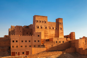 Kasbah Oulad Othmane, Draa Valley, Atlas Mountains, Morocco, North Africa, Africaの写真素材 [FYI03793323]