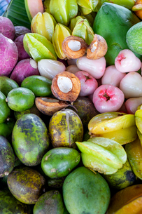 Tropical fruits, Indonesia, Southeast Asia, Asiaの写真素材 [FYI03793604]