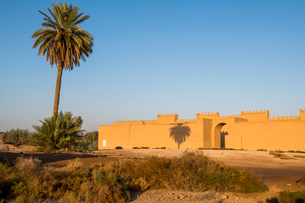 Reconstructed ruins of Babylon, Iraq, Middle Eastの写真素材 [FYI03793864]