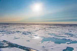 Melting ice at North Pole, Arcticの写真素材 [FYI03793865]